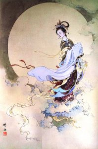 Chinese Moon Goddess- Chang'e
